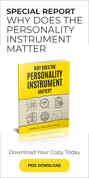 Why does the personality instrument matter